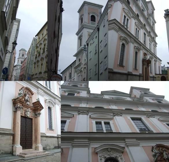 Passau - Igreja de St Michael - fachada exterior