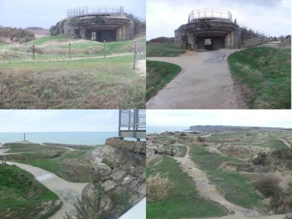 Ponta du Hoc - Uma especie de bunker protector
