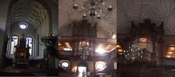 Regensburg - Igreja da Santissima Trindade - Dreieinigkeitskirche - interior