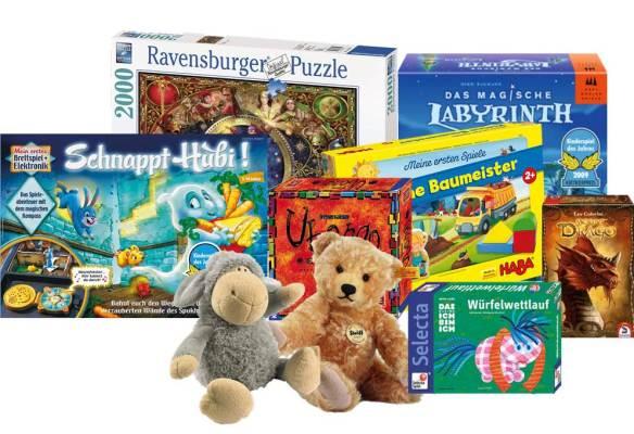 Jogos e outros artigos infantis