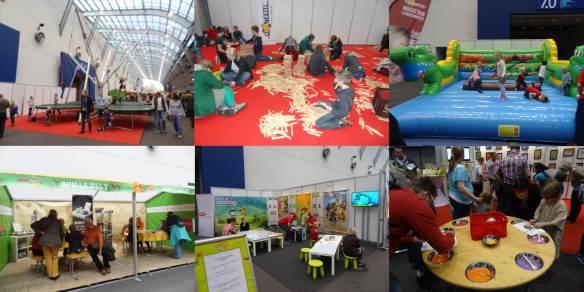 SpieleMesse Essen 2013 -area mais infantil