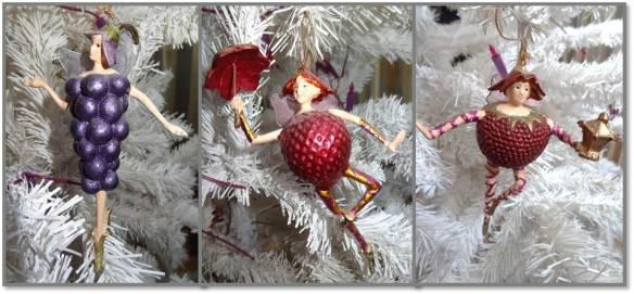 Decoracoes de Natal 2013 - Frutas do Castelo de Hellbrunn